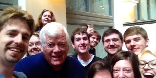 His #CongressionalSelfie earned Congressman McDermott YDWA's endorsement!