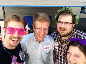 Kilmer Pride Selfie
