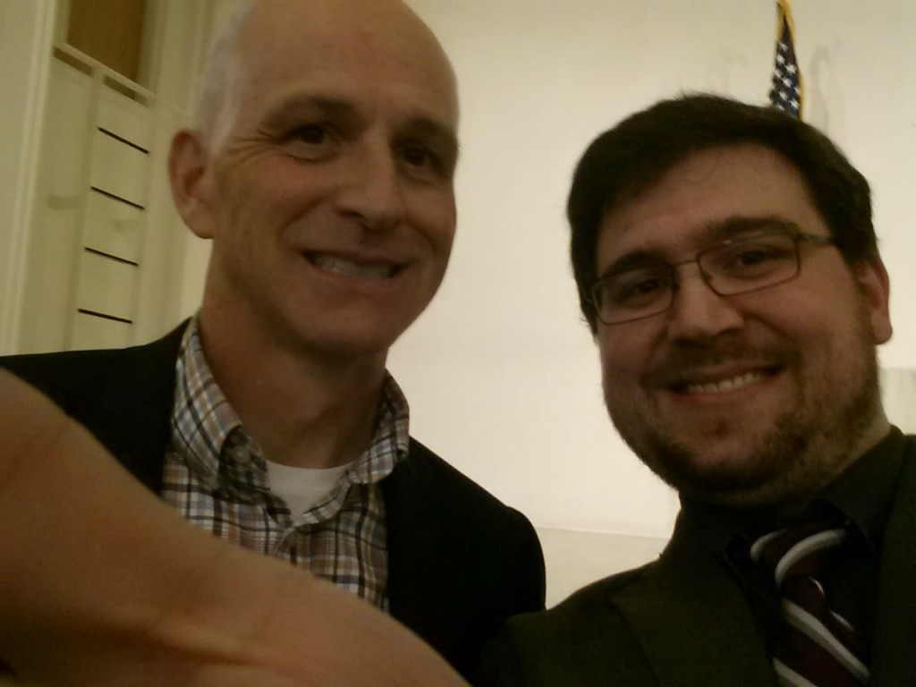 Congressman Smith's Seattle Constituent happened to be at the dinner, and secured our final #CongressionalSelfie!