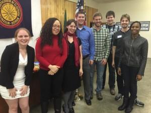 The 2015 Pierce County Young Democrats E-board!