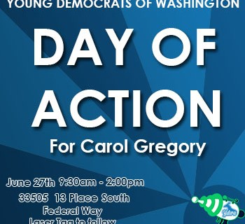 Day of Action- Gregory