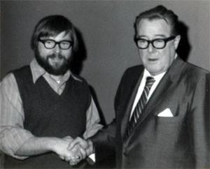 Walt Bowen with Senator Warren Magnuson