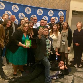 The Young Democrats of Clark County won Chapter of the Year for the second year in a row!