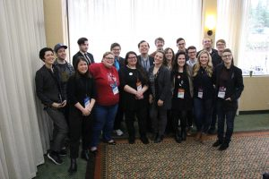 A group photo of the 2018 YDWA General Board